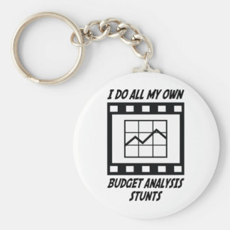 Budget Analysis Stunts Key Chain