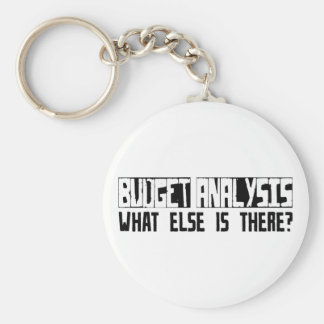 Budget Analysis What Else Is There Key Chain