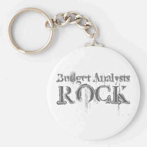 Budget Analysts Rock Key Chains