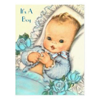 budget BABY SHOWER Invitation Postcard