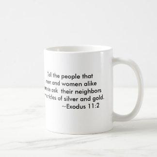 Budget Crisis Collection Classic White Coffee Mug