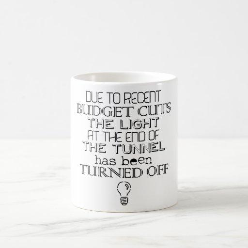 Budget Cuts Coffee Mug