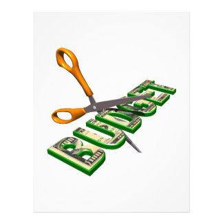 Budget Cuts Full Color Flyer