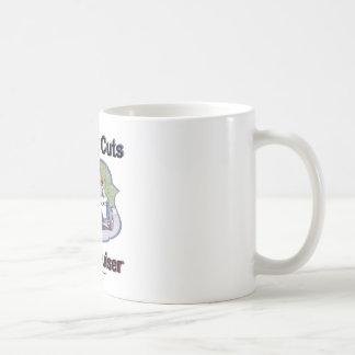 Budget Cuts New Cruiser Classic White Coffee Mug