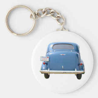 Budget Gift - Vintage Blue Chevy Father's Day Key Ring