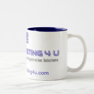 Budget Hosting for you Two-Tone Coffee Mug