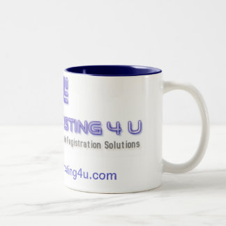 Budget Hosting for you Two-Tone Mug