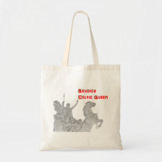 Budget Tote Bag - Bodica - the Celtic Queen
