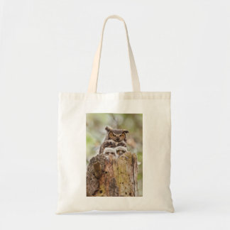 Budget Tote Bag with Owls