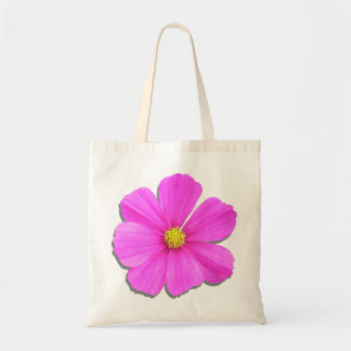Budget Tote - Dark Pink Cosmos Budget Tote Bag