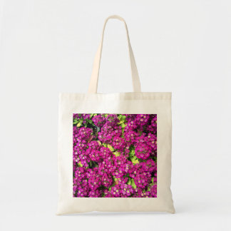 Budget tote flower bed canvas bags