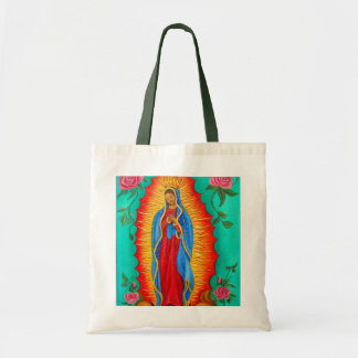 Budget Tote/ Our Lady of Guadalupe Budget Tote Bag
