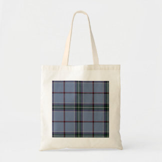 Budget Tote peace tartan by highsaltire Canvas Bag