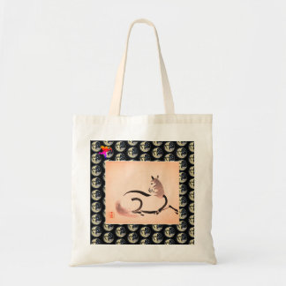 Budget Tote WITH CHINESE HORSE