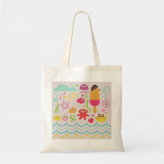 Budget tote with Fishes
