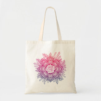 Budget Tote with hand paint design