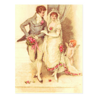 Budget Wedding Invitation Postcard