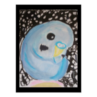Budgie at Night Posters