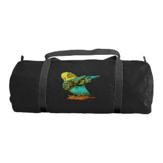 Budgie Budgerigar Dabbing Gym Bag