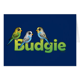BUDGIE CARD
