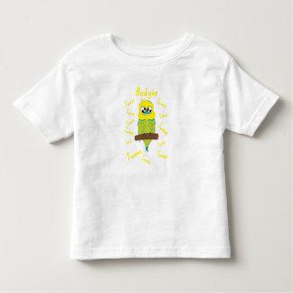 Budgie Design Toddler T-Shirt