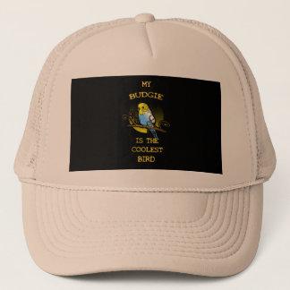 Budgie is the Coolest Bird Trucker Hat