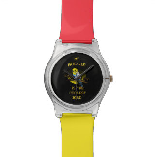 Budgie is the Coolest Bird Wrist Watches