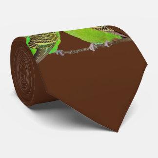 Budgie Kisses Tie