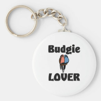 Budgie Lover Key Ring