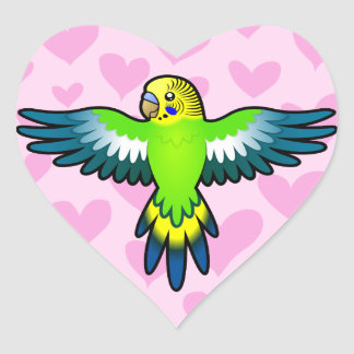 Budgie / Parakeet Love Stickers