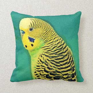 Budgie/Parakeet Throw Pillow