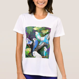 Budgies Ladies Performance T-Shirt