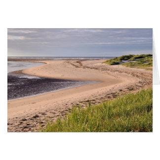 Budle Bay, Northumberland Card