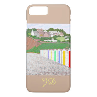 Budleigh Salterton beach huts iPhone 7 Plus Case