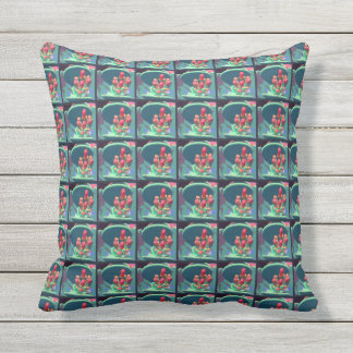 Buds from Above Pattern Cushion