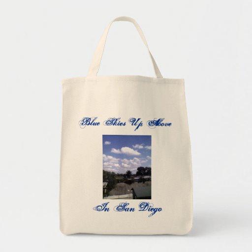 Bue Skies up Above Tote Bag