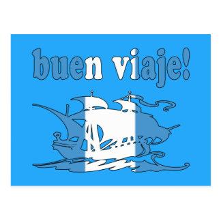 Buen Viaje - Good Trip in Guatemalan - Vacations Postcard