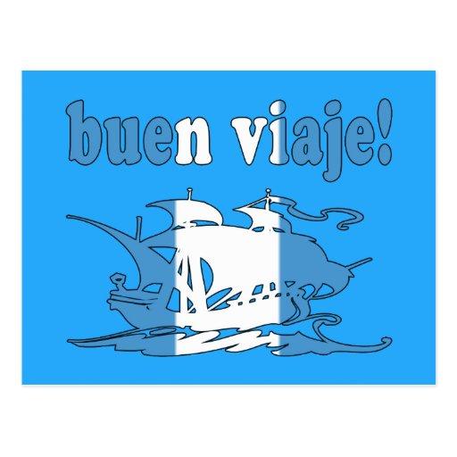 Buen Viaje - Good Trip in Guatemalan - Vacations Post Card
