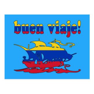 Buen Viaje - Good Trip in Venezuelan - Vacations Postcard