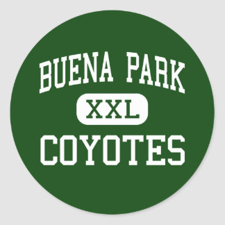 Buena Park - Coyotes - High - Buena Park Classic Round Sticker