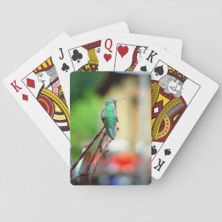 Buena Vista Colorado Hummingbird Playing Cards