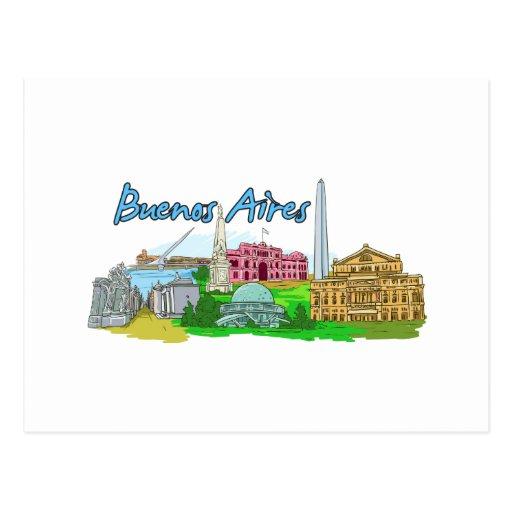 Buenos Aires - Argentina Postcards