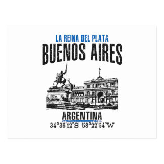 Buenos Aires Postcard