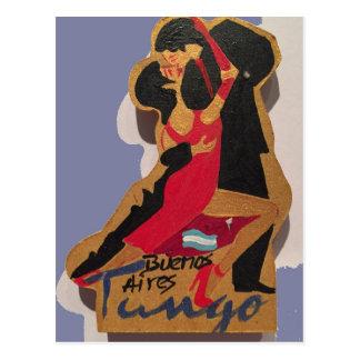 Buenos Aires Tango Postcard