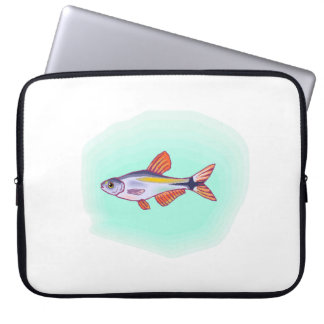 Buenos Aires Tetra Fish Laptop Sleeve