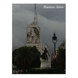 Buenos Aires - Torre de los Ingleses Postcard