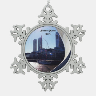 Buenos Aires view from Women s Bridge Ornament