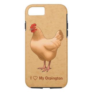 Buff Orpington Chicken Hen iPhone 7 Case