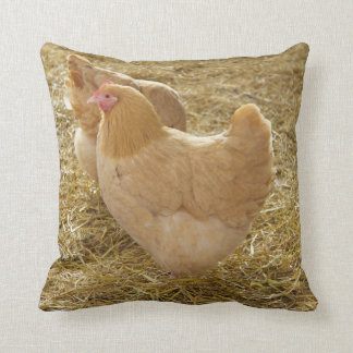 Buff Orpington Pillow