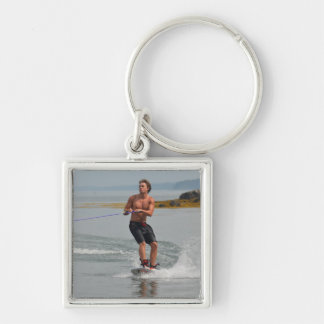 Buff Wakeboarder Key Chains